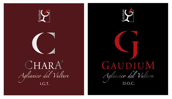 gaudium Gaudium etichette vino (Roma)