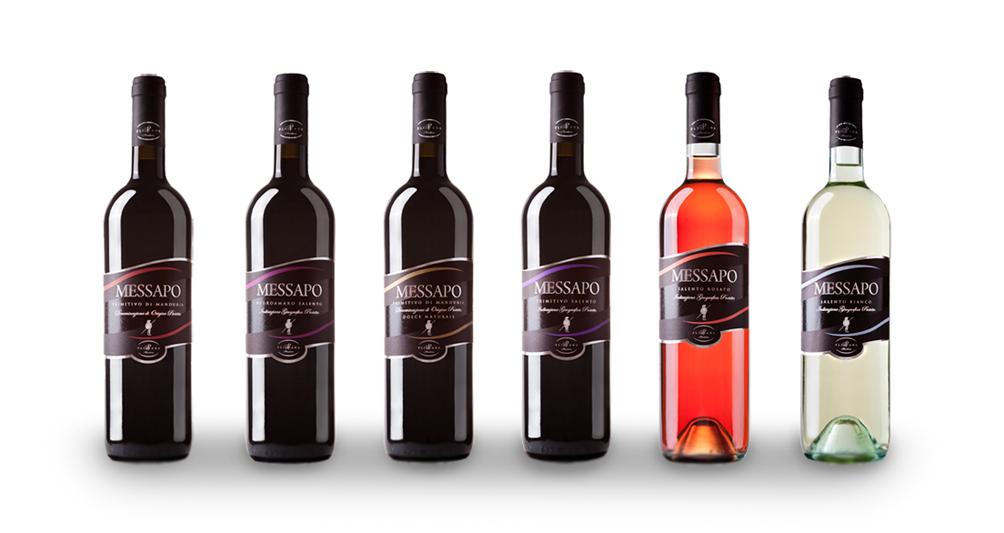 grafica linea etichette Design grafica etichette vino   Cantine Pliniana (Ta)