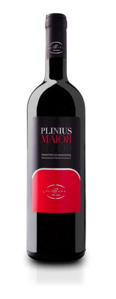 grafica primitivo 233x600 Design grafica etichette vino   Cantine Pliniana (Ta)
