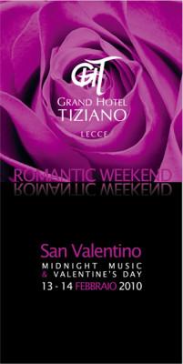 grafica volantino lecce 201x400 Progetto campagna pubblicitaria   Grand Hotel Tiziano (Lecce)
