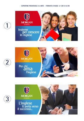 grafico economico 279x400 Progetto grafico pieghevoli   Morgan School (Casarano)