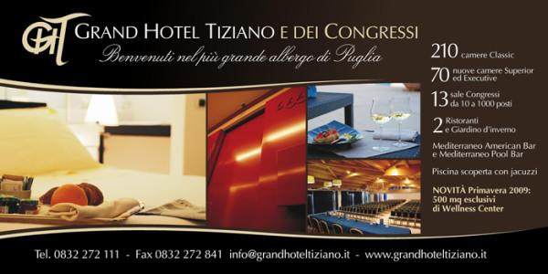 manifesti6x3lecce 600x300 Progetto campagna pubblicitaria   Grand Hotel Tiziano (Lecce)