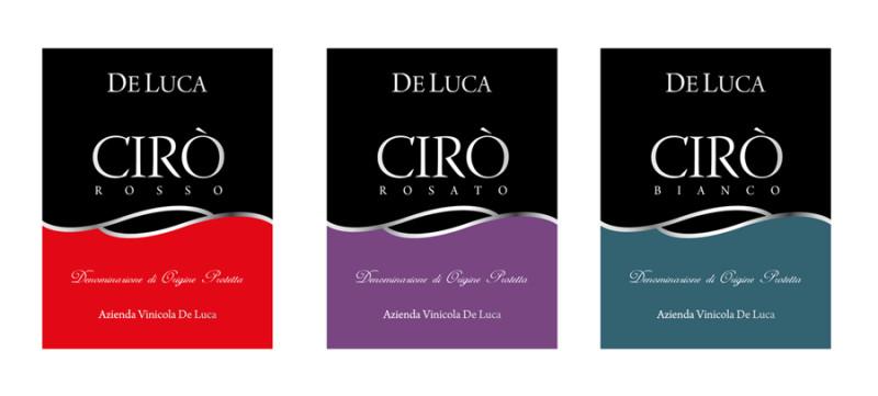 grafico per vino 800x361 Realizzazione grafica etichetta   De Luca   Melissa (Crotone)