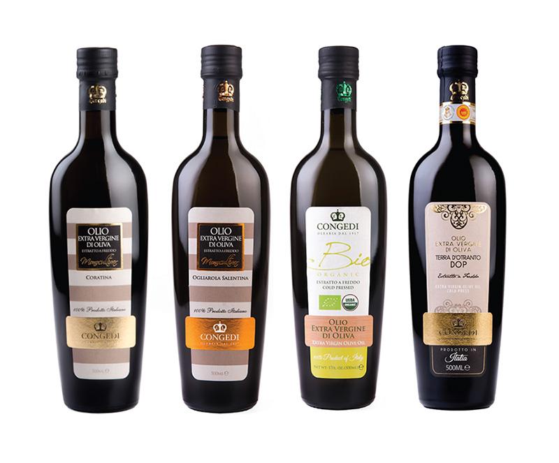 grafica etichette particolari Progetto Etichetta e Packaging Olio Congedi   Ugento (Lecce)