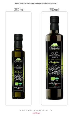 etichetta economica 249x400 Studio grafico Etichetta Olio Palascino   (Caltanissetta)
