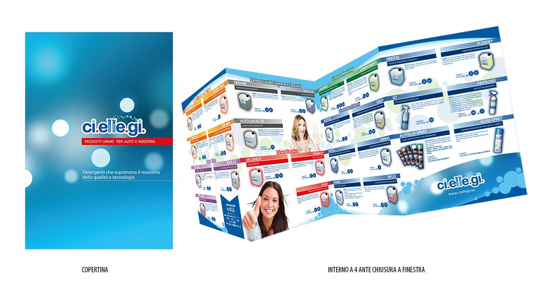 catalogo autolavaggio Progetto grafico catalogo   Ciellegi (Lecce)