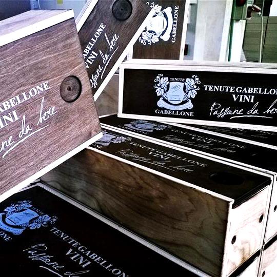 scatole legno vino Personalizzazioni Grafiche