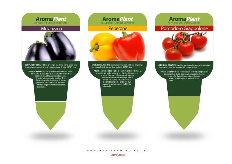 etichette piante 800x566 Design grafico di etichette per piante