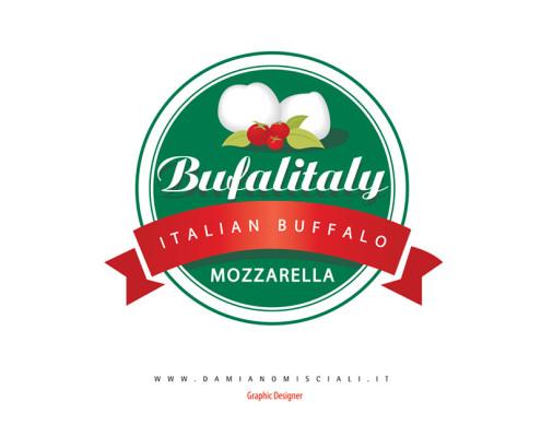 logo mozzarella 495x400 Creazione marchio mozzarella di bufala (Campania)
