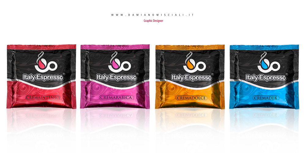 grafica cialde caffe Grafica cialde e capsule caffè   ItalyEspresso