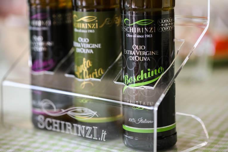 grafica etichette Progetto grafico etichette olio Schirinzi