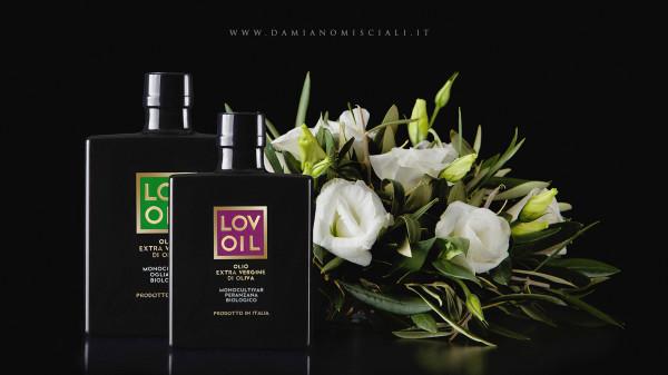 grafica etichette salento 600x337 Progetto linea etichette Olio   Lovoil