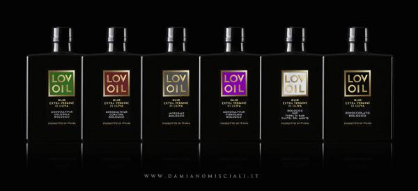 linea etichette olio 600x274 Progetto linea etichette Olio   Lovoil