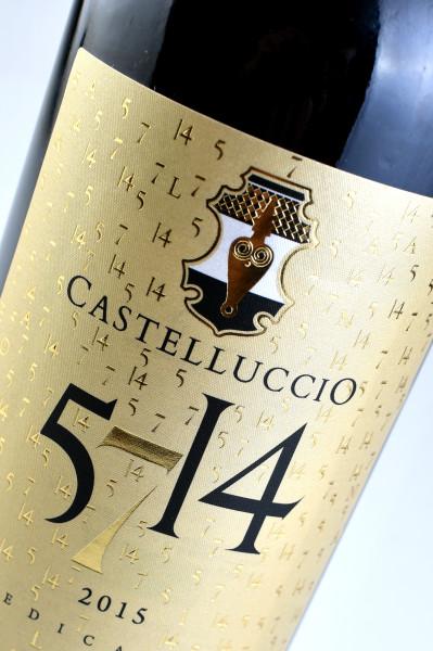 etichetta particolare 399x600 Design etichetta vino   Castelluccio