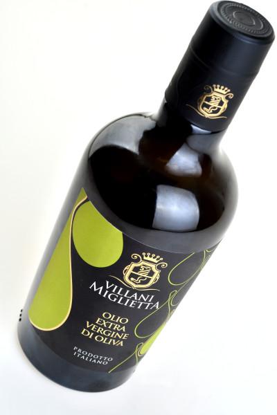 greaseproof 400x600 Progetto grafico etichetta olio   Villani Miglietta