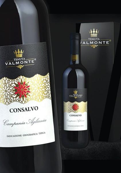 etichetta aglianico 422x600 Design etichetta vino   Tenuta Valmonte
