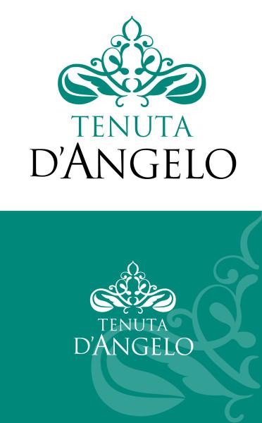 progettare logo olio 372x600 Creazione Marchio Per Azienda Olearia   Tenuta DAngelo