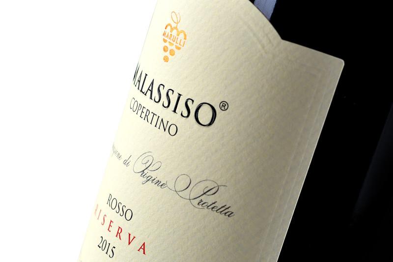 disegno etichetta rosso 800x533 Design etichetta Rosso Riserva – Marulli