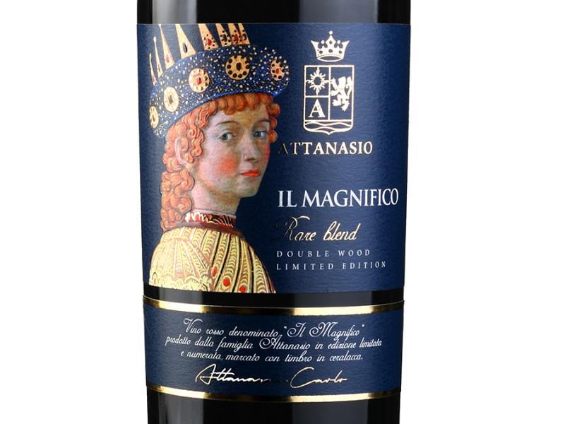 design etichetta lusso 800x600 Design etichetta vino Il Magnifico – Cantina Attanasio