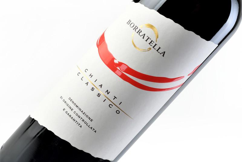 design etichetta particolare 800x537 Design etichetta chianti DOCG   Borratella