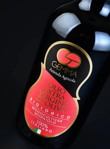 etichette design salento 442x600 Progetto grafico etichetta olio   Gemma