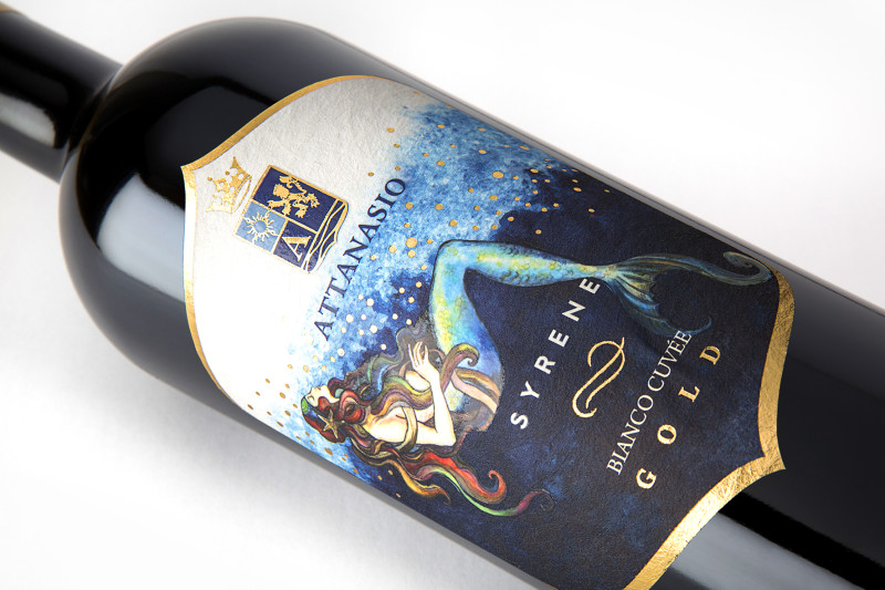 carta vino.goffrata 800x533 Grafica etichetta vino   Cantina Attanasio
