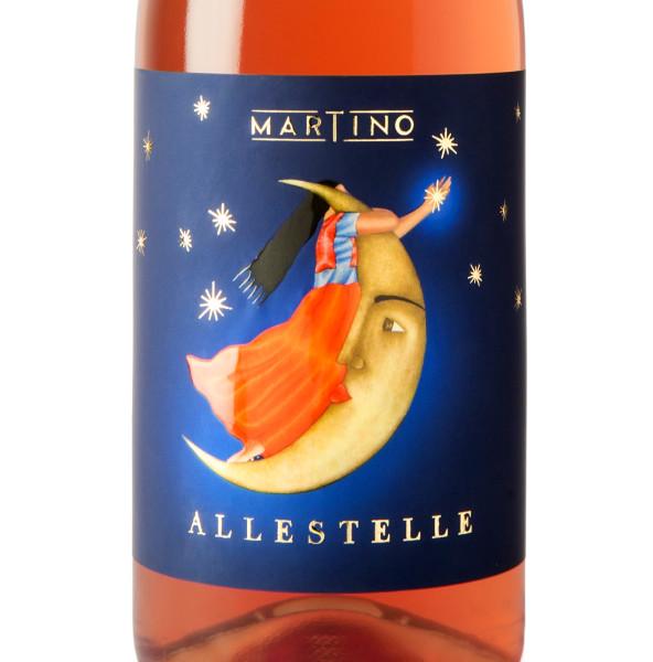 design etichette vini 592x600 Grafica etichetta vino rosato   Allestelle   Tenuta Martino