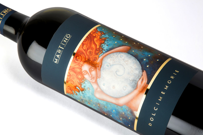 disegnare etichette 800x533 Grafica etichetta vino rosso   Dolci Memorie   Tenute Martino